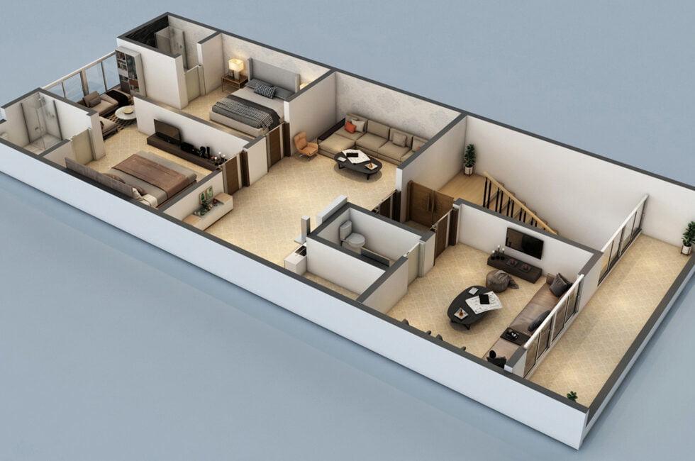 3d house blueprints
