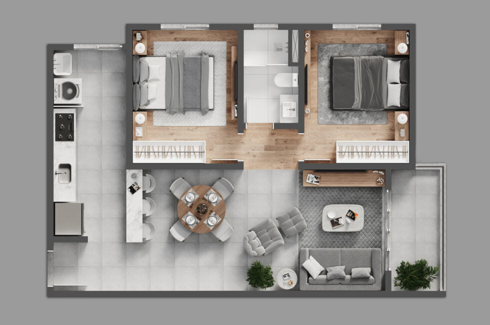 2d and 3d floor plan services