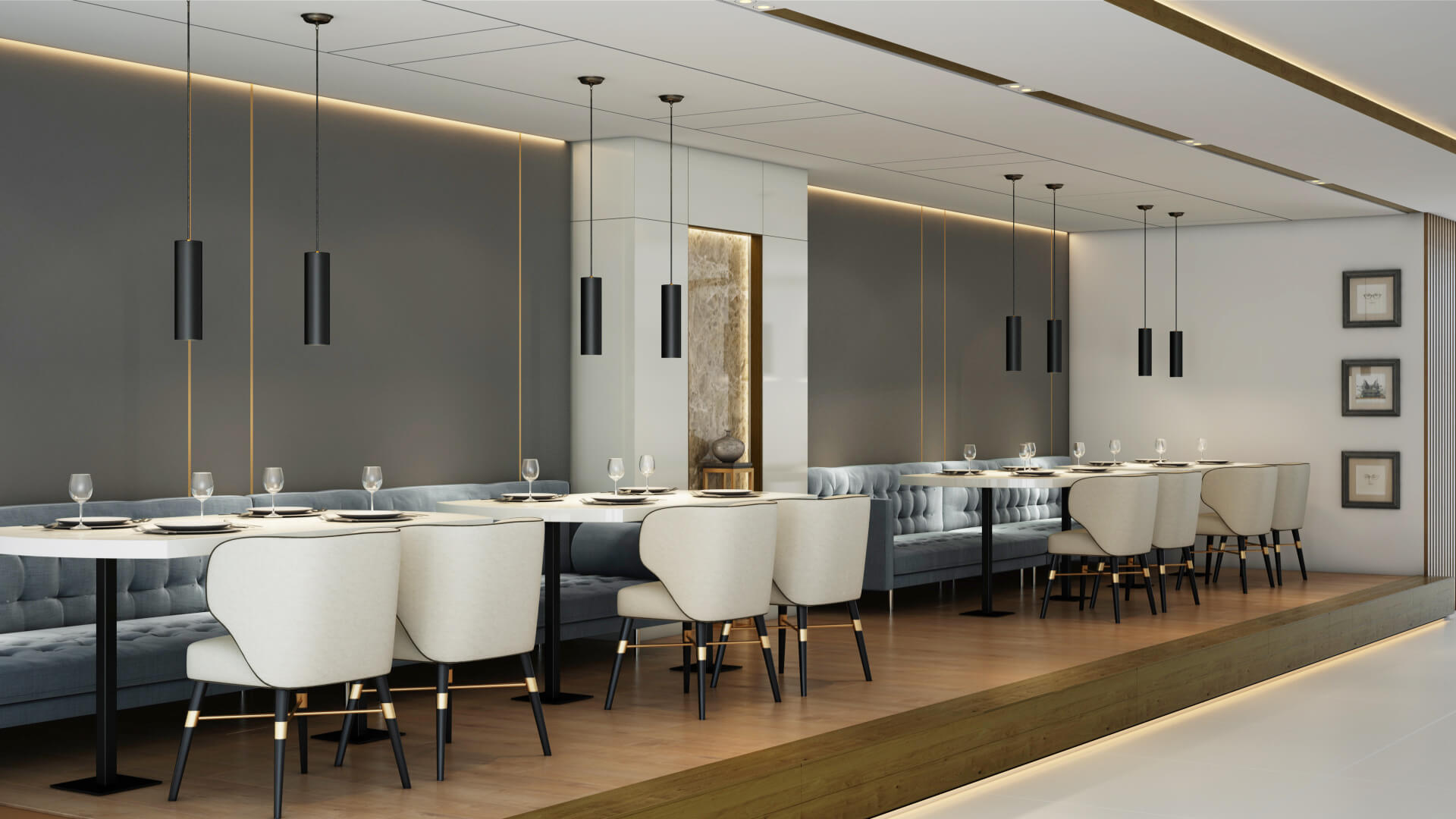 elegant restaurant design